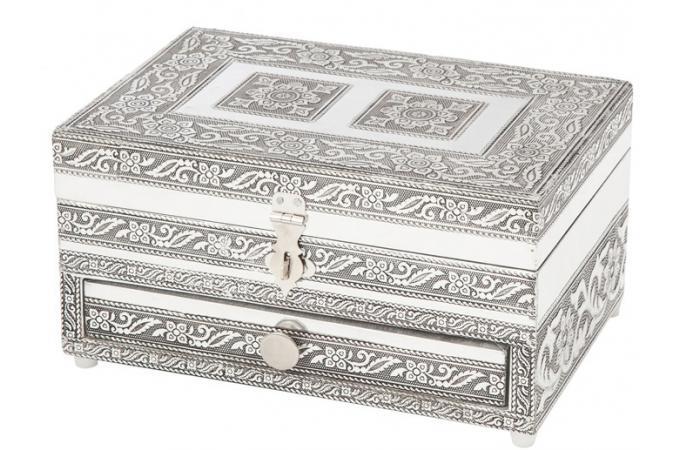 boite bijoux argent bo te de rangement pas cher. Black Bedroom Furniture Sets. Home Design Ideas