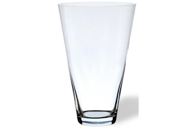 vase c ne en verre h 30 cm vase pas cher. Black Bedroom Furniture Sets. Home Design Ideas