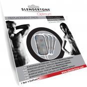 Slendertone - Jeu de 4 Electrodes 10x10cm - Sport & Minceur HOMME