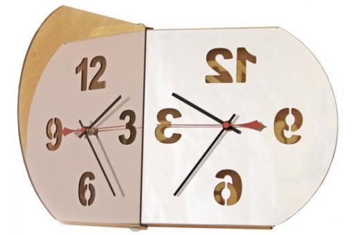 horloge miroir design bulle horloge design pas cher. Black Bedroom Furniture Sets. Home Design Ideas