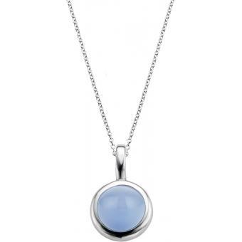 Collier et pendentif Noir Bleu  - Ti Sento - Ti Sento