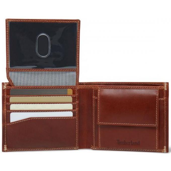 Portefeuille avec porte monnaie cuir Timberland