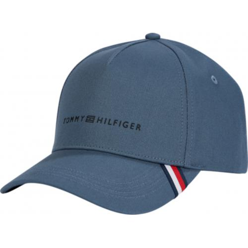 Tommy Hilfiger Maroquinerie - Casquette Bleue Coton - Casquette HOMME Tommy Hilfiger Maroquinerie