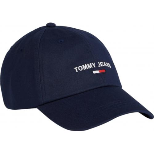 Tommy Hilfiger Maroquinerie - Casquette Bleue Nuit Tommy Jeans - Casquette HOMME Tommy Hilfiger Maroquinerie