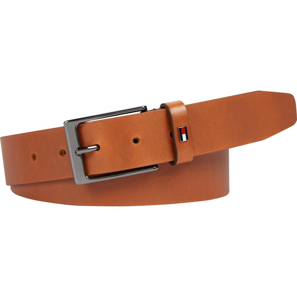 Ceinture Homme cuir marron - Tommy Hilfiger  Tommy Hilfiger Maroquinerie