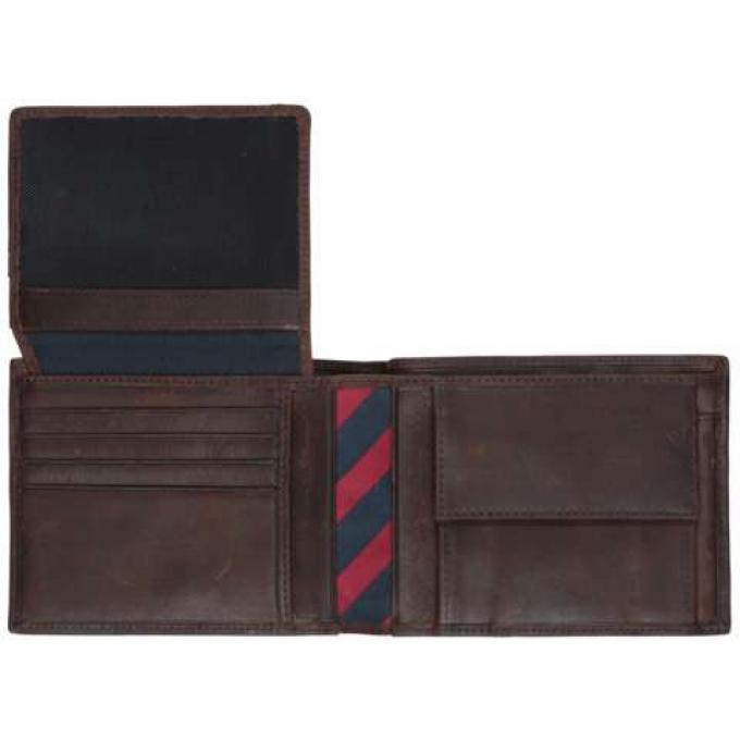 portefeuille horizontal johnson cuir hilfiger maroquinerie cadeaux maroquinerie homme