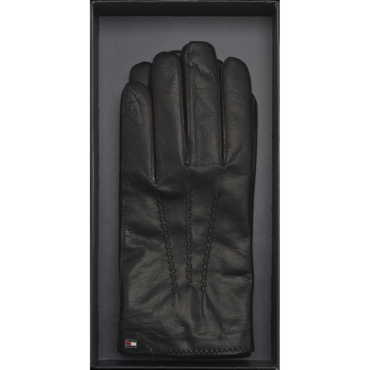 FLAG LEATHER GLOVES GP Tommy Hilfiger Maroquinerie