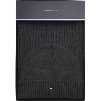 Tommy Hilfiger Maroquinerie - PIMA COTTON SCARF & BEANIE GP - Maroquinerie tommy hilfiger homme