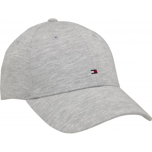Tommy Hilfiger Maroquinerie - TOMMY H - BB CAP JERSEY - gris - Casquette HOMME Tommy Hilfiger Maroquinerie