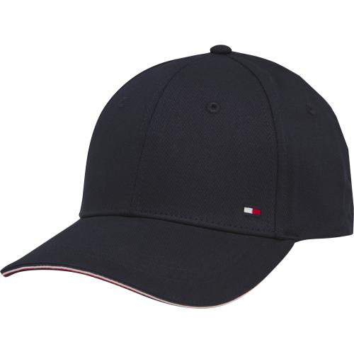 Tommy Hilfiger Maroquinerie - TOMMY H - ELEVATED CORPORATE CAP_CASQUETTE - bleu - Casquette HOMME Tommy Hilfiger Maroquinerie