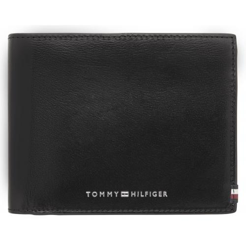 Tommy Hilfiger Maroquinerie - Portefeuille 3 volets en cuir lisse - Tommy Hilfiger - Petite maroquinerie homme