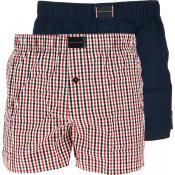 Tommy Hilfiger Underwear - 2P WOVEN BOXER CHECK - Shorty boxer homme