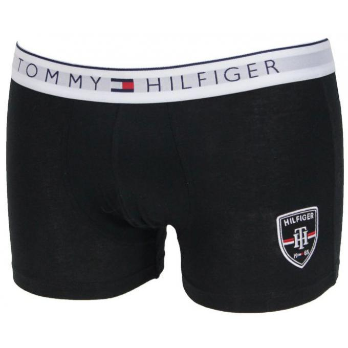 boxer coton basic ceinture logot e tommy hilfiger underwear boxer shorty homme. Black Bedroom Furniture Sets. Home Design Ideas