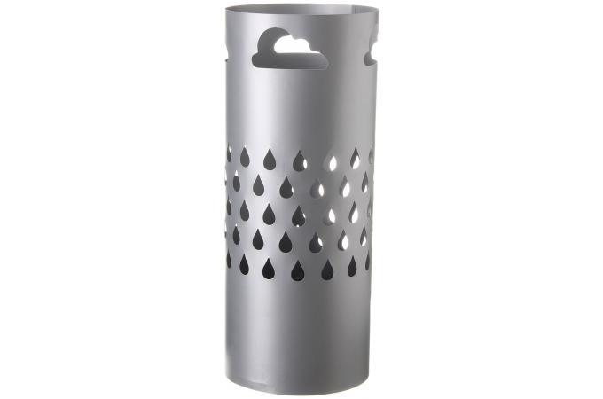 porte parapluie m tal gris 19 50x49cm porte manteaux pas. Black Bedroom Furniture Sets. Home Design Ideas