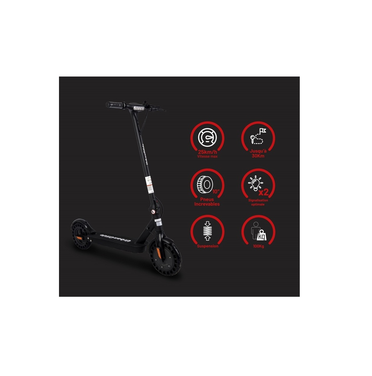 Ride-100XS  - Trottinette électrique