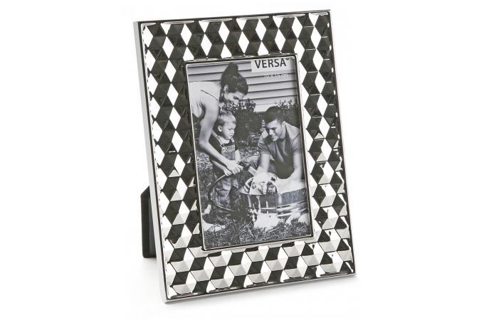 cadre photo rectangulaire argent 10 x 15 cm cadre photo pas cher. Black Bedroom Furniture Sets. Home Design Ideas