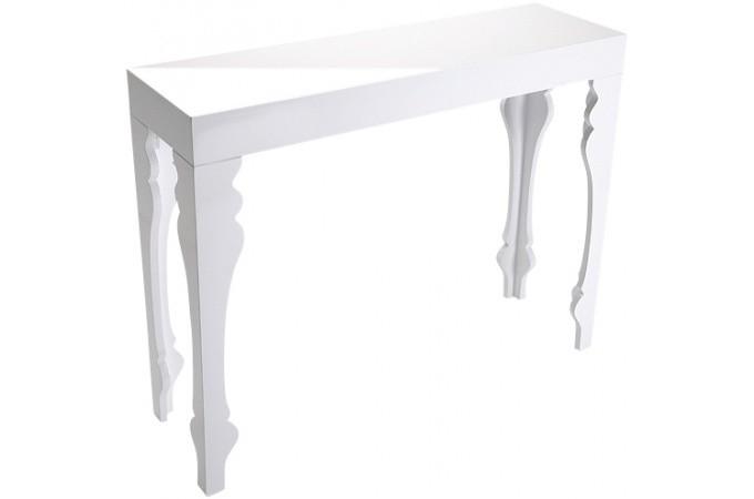 meuble console blanche maison design. Black Bedroom Furniture Sets. Home Design Ideas