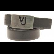 9b91e76d4d5 Versace Jeans - CEINTURE AVEC PLAQUE SIGLE VJ PERCE - Ceinture homme  bretelle