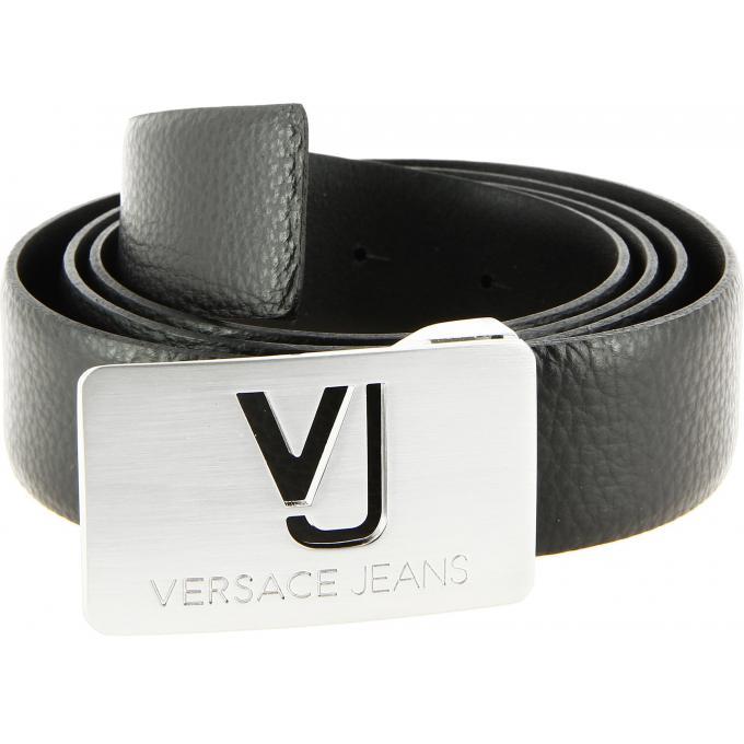 a25e94fd456 CEINTURE RELIEFE PLAQUE LOGO Versace Jeans - Ceinture   bretelle homme