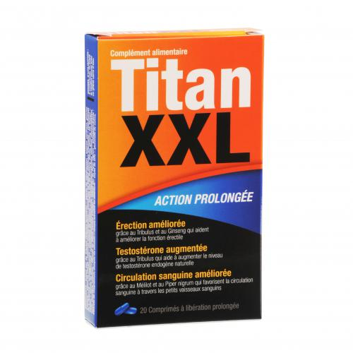 Titan XXL Action prolongée